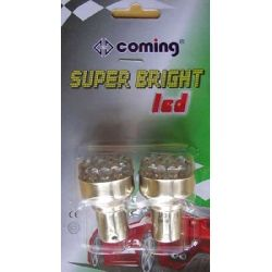 CP. LAMP. 12V-S25-BA15S LED AR